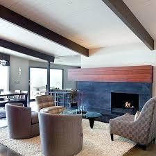 mid century modern fireplace design ideas stunning mid century modern renovation in