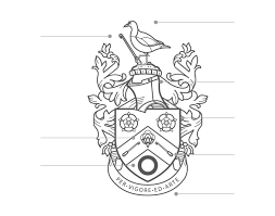 The Reed Coat Of Arms Reed Family Linen