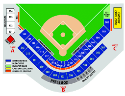 Roger Dean Stadium Seating Chart With Seat Numbers 28 Faithful Roger Dean Stadium Seat Chart
