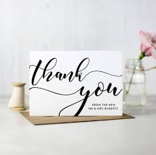 Custom Thank You Cards For Business Unique How To Write Thank You