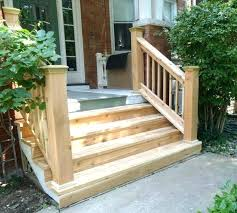 front porch stairs wood outdoor steps improvements and repairs railings step ideas sims 4 outside under