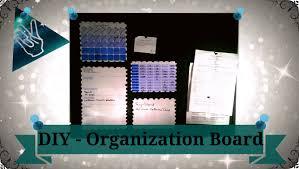 Diy Organization Diy Organization Board Jilthereal Youtube