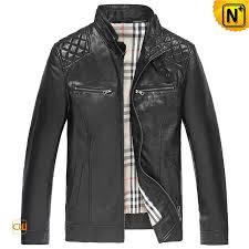mens racer leather jacket cw850256 cwmalls com
