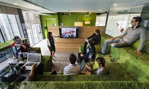Google office space New Googleofficegrass Linkedin Business Solutions Questions You Should Ask About Your Hip New Office Space