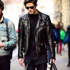 below we ve put on display outfits with the biker jacket done right filed under men s fashion