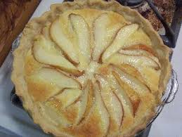 Image result for pear custard pie