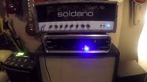 how to set up a wet dry wet guitar rig soldano fractal matrix