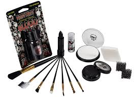 amazon scary skeleton makeup kit by mary costume professional special effects face makeup supplies fx foundation