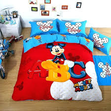 mickey mouse bedding twin mickey mouse twin comforter mickey mouse duvet set luxury bedding sets red