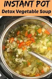 instant pot detox vegetable soup veg
