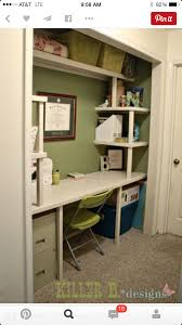 closet to office. Craft Closet Makeover, Closet, Rooms, Studio, Guest Room With Office To I