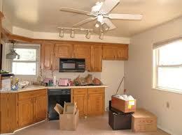 kitchen island track lighting. Low Cost Kitchen Track Lighting Featuring Lighted Ceiling Fan Island