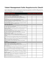 Business Requirement Example Interpreting Upgrade Xls Tech Project Management Requirements
