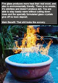 fire glass ultimate cool stuff for heating