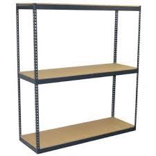 jaken 72 x 18 x 84 3 shelf 600 lb cap heavy duty boltless shelving 3bw3 721884