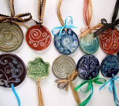 Porcelain Slip Trailed Christmas Ornaments. Ceramics ...