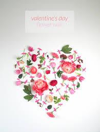 valentine s day flower wall art