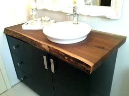 above counter bathroom sinks