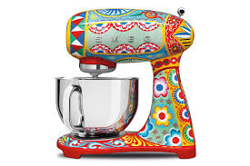 Reproduction Kitchen Appliances Dolce Gabbana Smeg Kitchen Appliances Bring Runway Design To