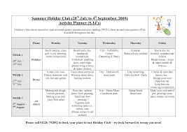 Easily Create A Holiday Itinerary Template Using Ms Excel