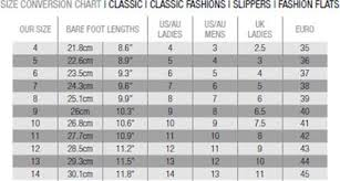 Ugg Women S Size Chart Sizing Chart Jumbo Ugg