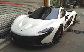 mclaren p1 black and white. mclaren p1 supercar is white in china mclaren black and d