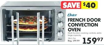 oster xl digital countertop oven with french doors toaster oven home hardware french door convection oven