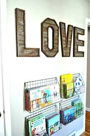wooden baby letters for nursery wall hanging decor large to hang on g si
