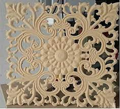 hand carving wooden wall hanging plaque