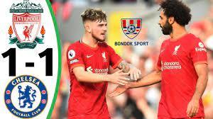 ملخص مباراة ليفربول وتشلسي 1-1 اليوم 28- 8 -2021 اهداف مباراة ليفربول  وتشلسي - YouTube