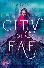 city of fae ebook cover design