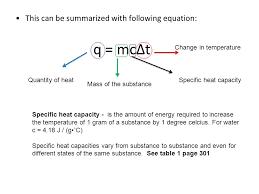 equation for heat energy q jennarocca