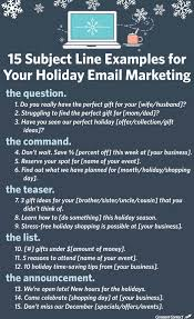 subject line examples for your email marketing 15 subject line examples for your holiday email marketing constant contact