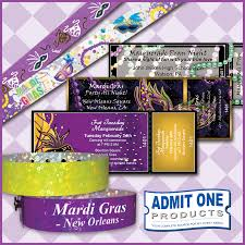 Prom Night Ticket Design Mardi Gras And Masquerade Party Tickets And Wristbands From