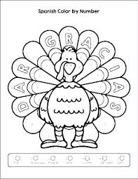 Coloring Pages In Spanish Coloring Pages Numbers Coloring Page