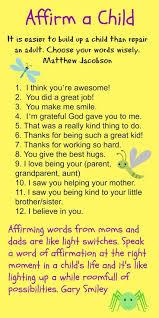 Encouraging Kids Affirmations For Kids Positive Words Mikka