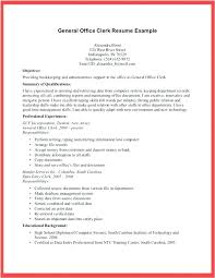 Conveyancing Clerk Resume Sample Office For Examples Clerical Yomm