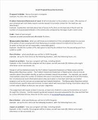 Project Executive Summary Template Luxury 20 Executive