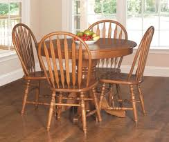 Beautiful Amish Table And Chairs For Round Kitchen Table Sets French