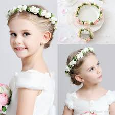 Flower girl flower headpieces