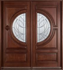double front doorEntry Door inStock  Double  Solid Wood with Dark Mahogany