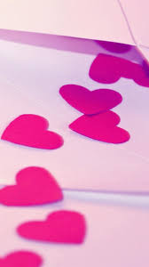 Pink Hearts Love iPhone 6s Wallpaper by ...