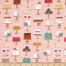 Michael Miller Bake Shop Sweet Cakes Confection Discount Designer