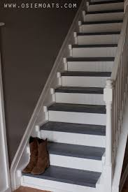 Best Images About Refinishing Stairs On Pinterest - Painted basement stairs