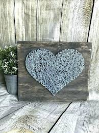whitewashed wall art whitewashed wall decor yellow heart string art whitewashed wall decor heart wall decor
