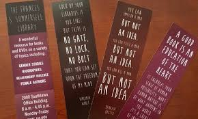 Library Bookmarks Women And Gender Resource Center