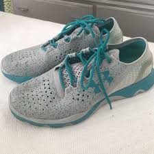 under armour tennis shoes. under armour shoes - women\u0027s tennis grey/teal
