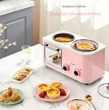 Lò nướng mini đa năng hồng phấn siêu dễ thương với giá 137.000 đồng
