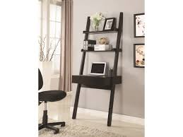 Size 1024x768 home office wall unit Ikea Wallleaning Writing Ladder Desk By Coaster Dunk Bright Furniture Coaster 801373 Wallleaning Writing Ladder Desk Dunk Bright