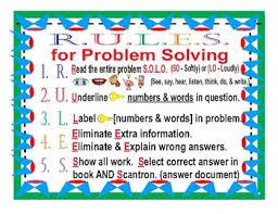 Third Grade Mathematics Chart Problem Solving Place Value Mathematics Chart 3rd Grade